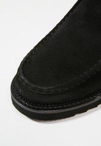 NOIRE LINE - JACK - Volnočasové šněrovací boty - black - 5