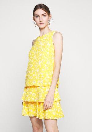 DRESS - Day dress - summer lemon