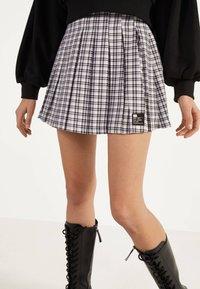 Bershka - Áčková sukně - mauve - 0