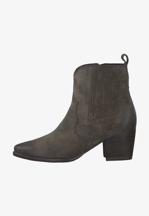 Ankle boots - cigar ant. 387