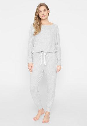 SET - Nattøj sæt - grey melange