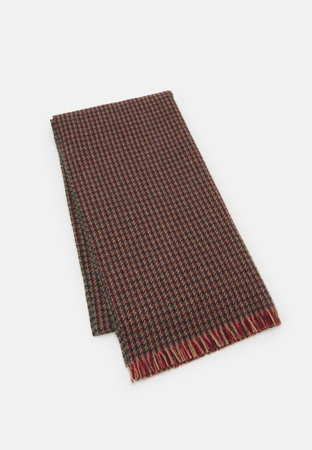 CHARLEY CHECK SCARF - Sciarpa - red/green