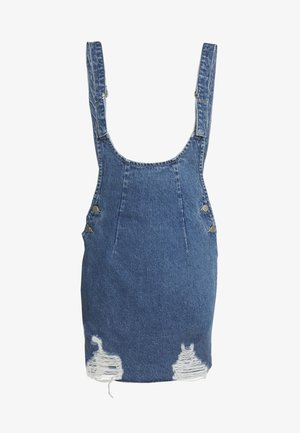 RYDER PINI - Robe en jean - blue