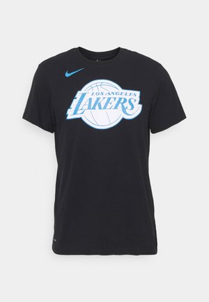 NBA LOS ANGELES LAKERS CITY EDITION DRY TEE - Article de supporter - black