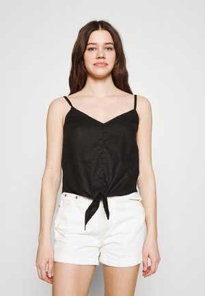 HILLROSE TANK - Top - black