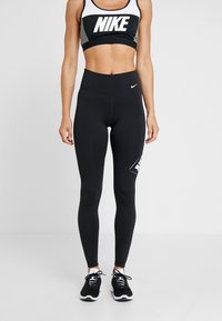 Nike Performance - ONE - Tights - black/white - 0