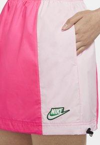 Nike Sportswear - Áčková sukně - hyper pink/pink foam - 3