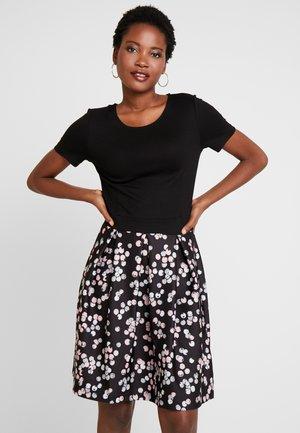 Day dress - black/rose