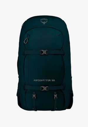 FARPOINT TREK - Hiking rucksack - petrol blue