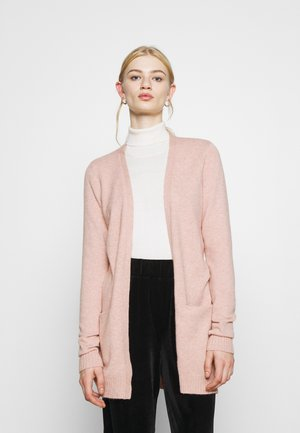 Strickjacke - misty rose melange