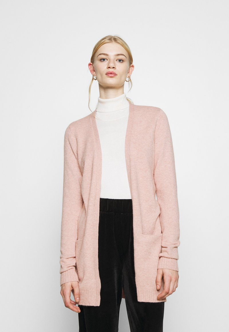 Vila - VIRIL  - Cardigan - misty rose melange