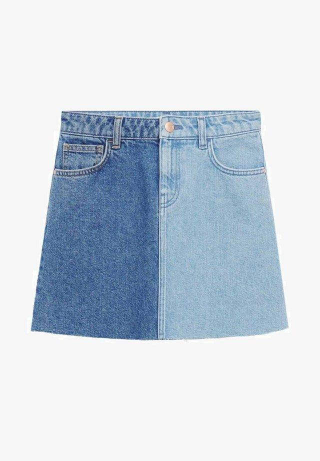 DUO - Jeansrok - lichtblauw