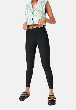 SHAPE LEGGINGS PLEATED RIDER - Leggings - Trousers - black
