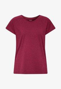 Esprit Sports - Print T-shirt - dark pink - 4
