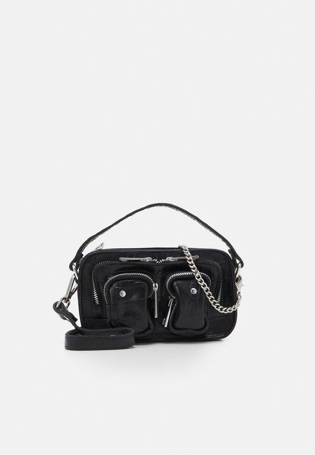 HELENA CROCO - Handbag - black