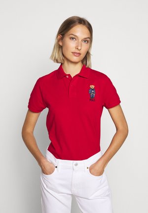 BEAR CLASSIC FIT - Koszulka polo - red