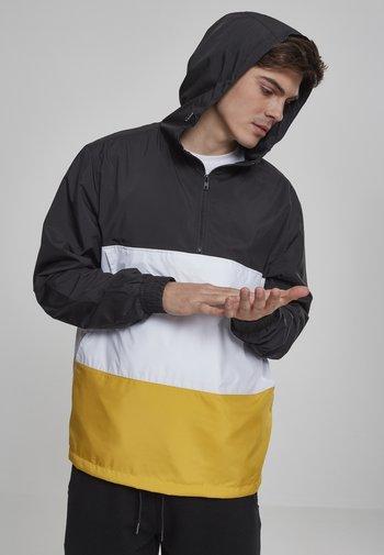 Summer jacket - blk/chromeyellow/wht