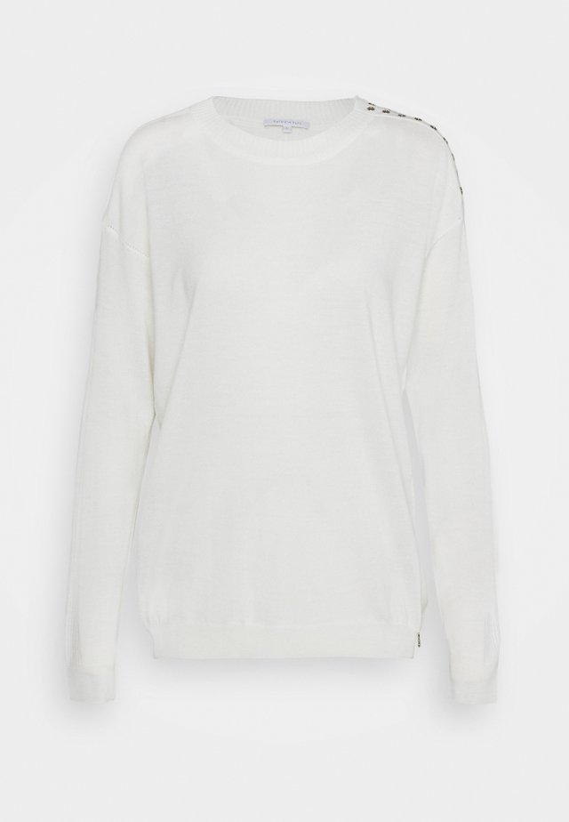 MAGLIA - Sweter - bianco