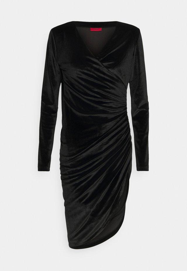 NELVETY - Cocktailkleid/festliches Kleid - black