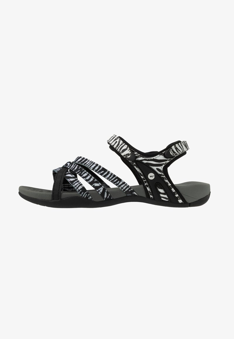 Hi-Tec - SAVANNA II - Chodecké sandály - black