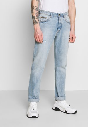 SLIM FIT MILANO ICON LIGHTLY DESTROYED - Slim fit jeans - blue denim