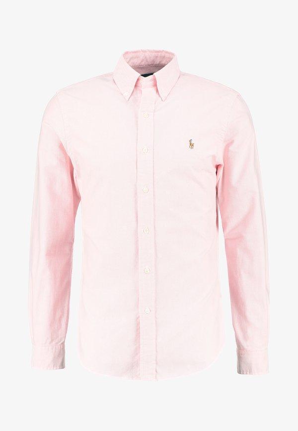 Polo Ralph Lauren SLIM FIT - Koszula - pink/rÓżowy Odzież Męska ASWO