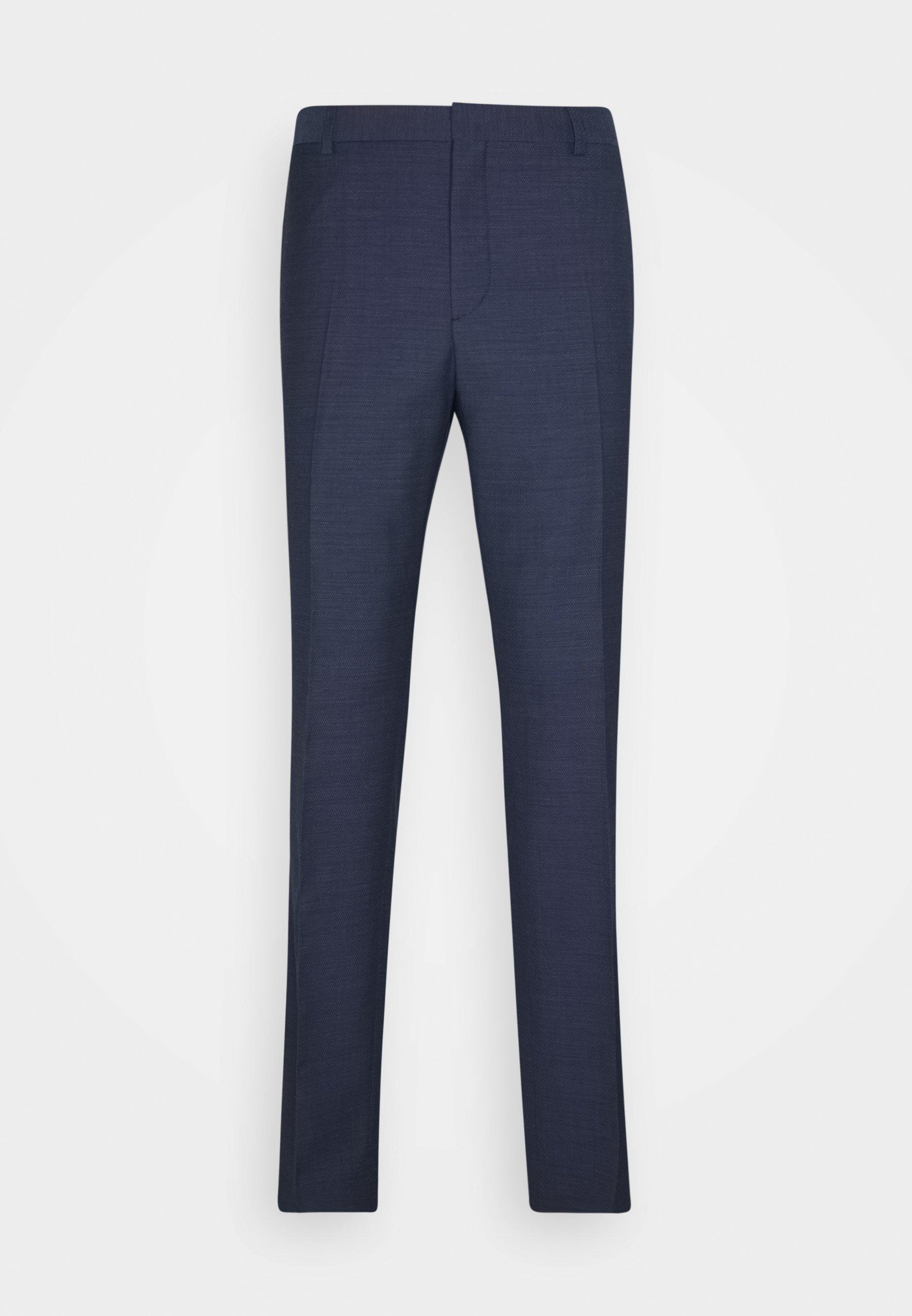 Calvin Klein Tailored SPECKLED SUIT - Garnitur - blue - Odzież męska 2020