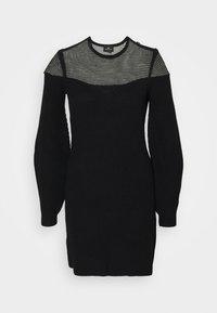 Elisabetta Franchi - WOMAN'S DRESS - Vestido de punto - nero - 0