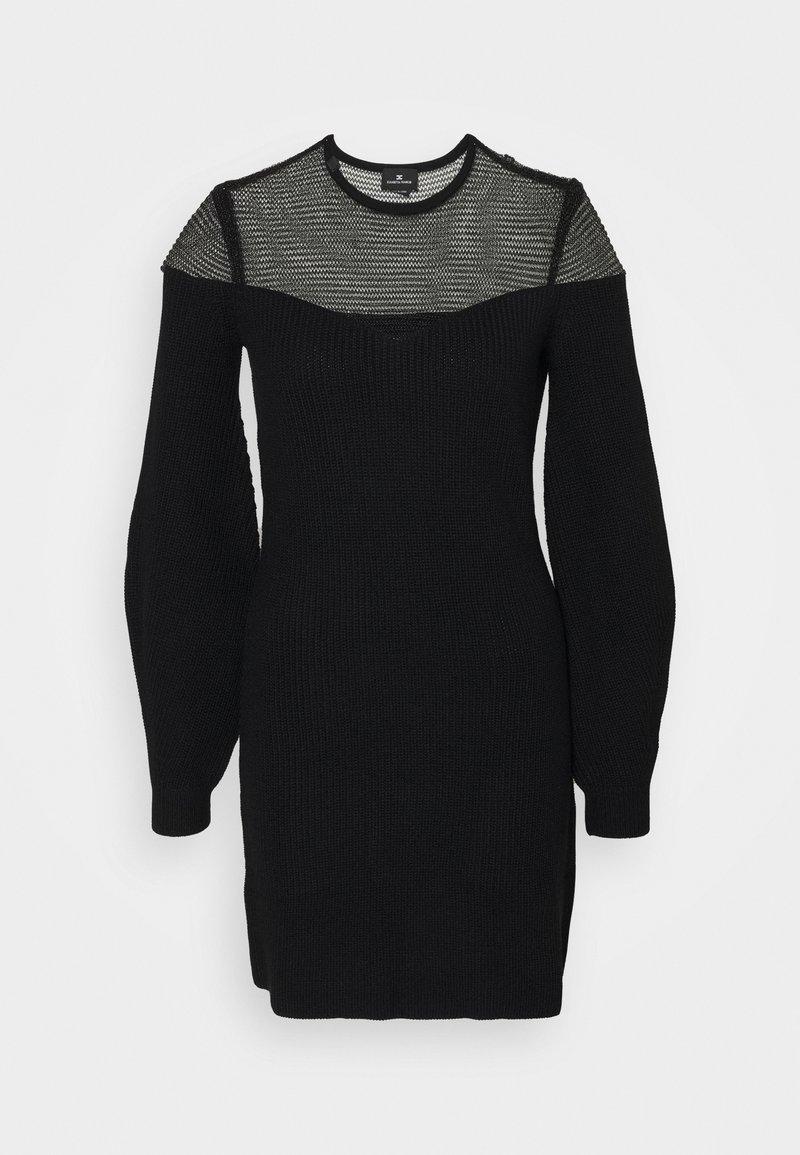 Elisabetta Franchi - WOMAN'S DRESS - Vestido de punto - nero