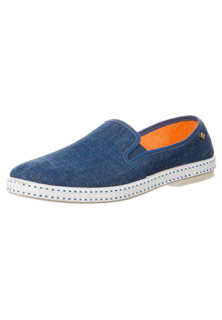 Men BLUE JEAN - Slip-ons