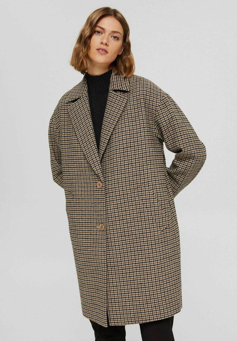 Esprit Collection - Short coat - khaki beige