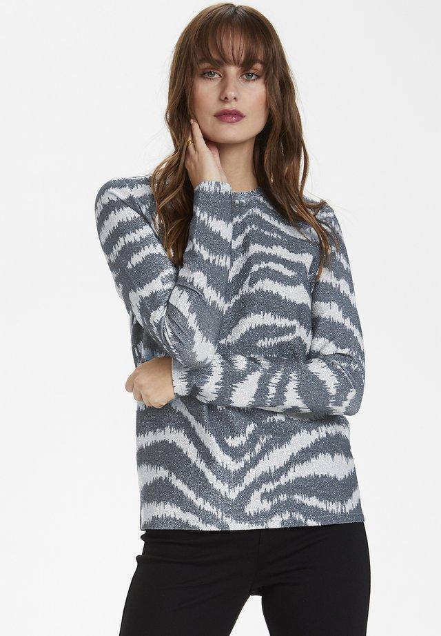 SLARYA COOPER - Maglietta a manica lunga - silver