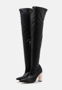 BEBO - BRIANA - Boots med høye hæler - black - 2