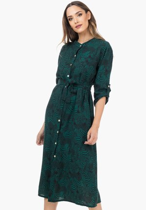 Day dress - verde oscuro