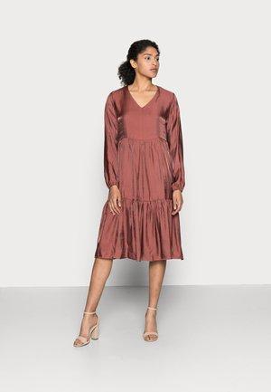 SALLY DRESS - Day dress - antique bordaux