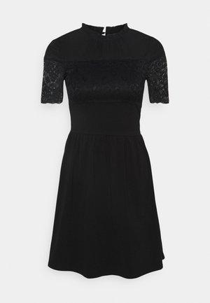 ONLNIELLA MIX DRESS - Korte jurk - black