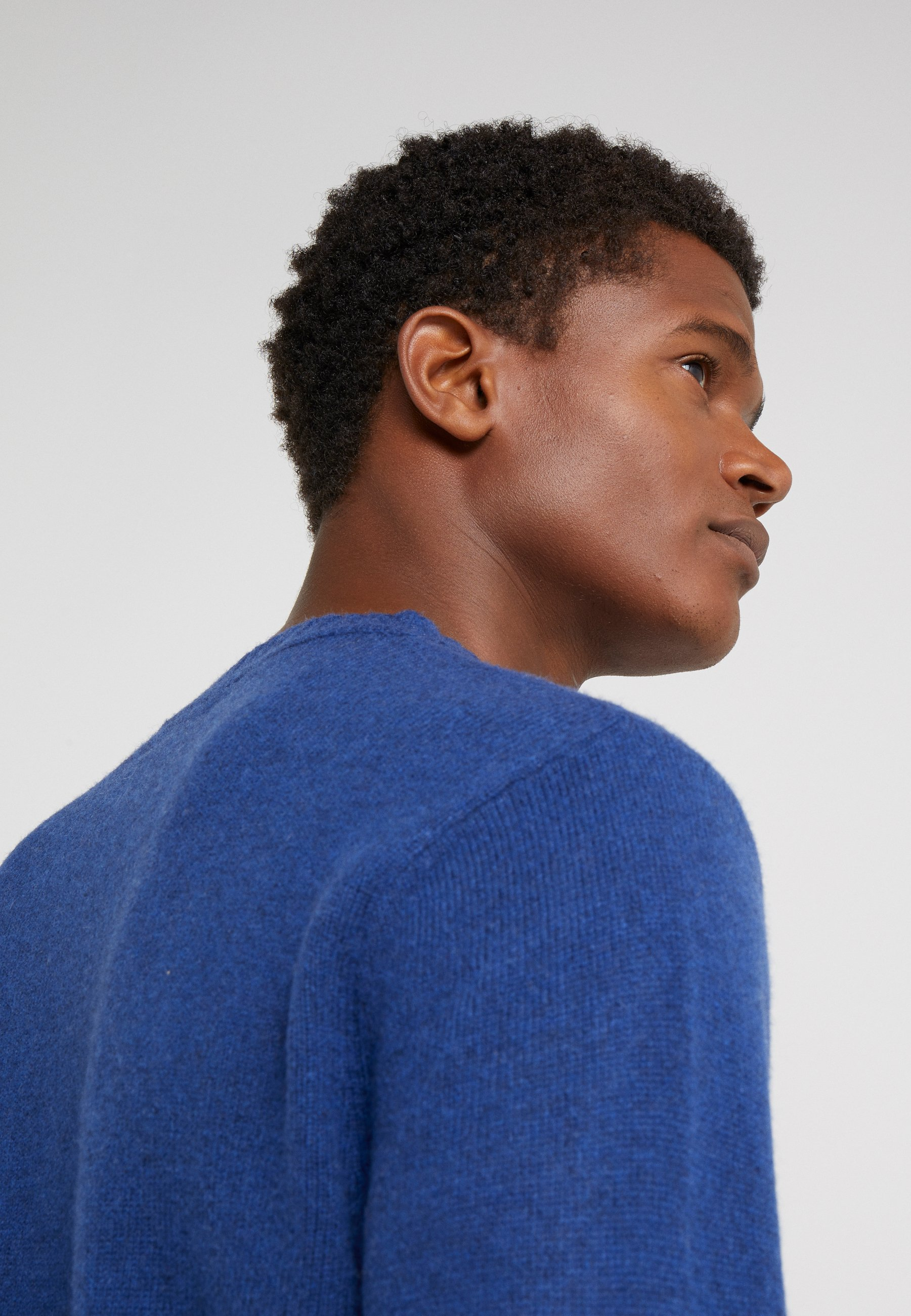 J.CREW TUBULAR DETAIL CREW - Pullover - night sky
