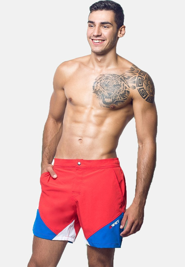 BWET Swimwear - Swimming shorts - white