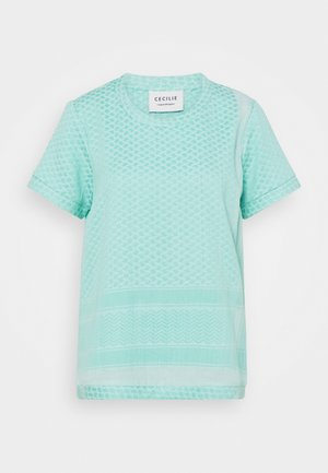 Print T-shirt - skylight/ocean wave