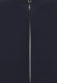 TOM TAILOR - MODERN BASIC ZIP JACKET - Kofta - dark blue - 2