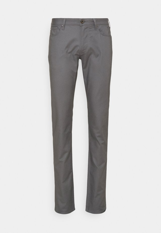 POCKETS PANT - Chino - dark grey