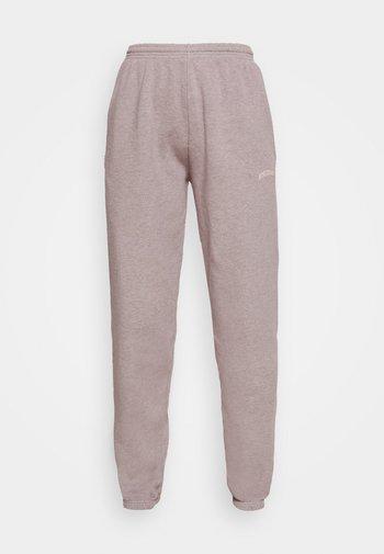 PANT - Tracksuit bottoms - grey lavendar