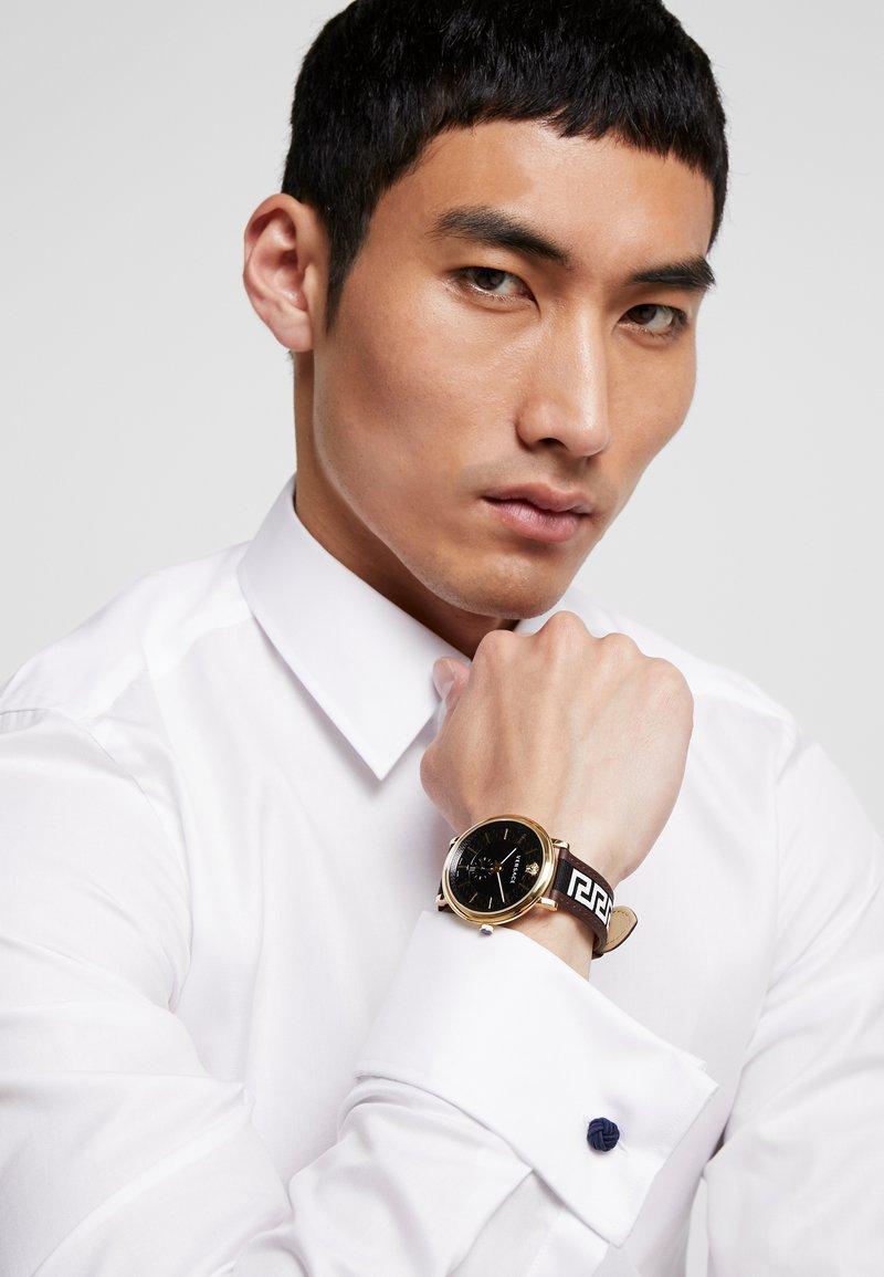 Versace Watches - CIRCLE GRECA EDITION - Watch - brown