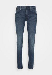 SLIM PIERS STRETCH - Slim fit jeans - used light stone blue denim
