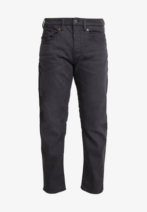 5650 3D RELAXED TAPERED - Jeans Relaxed Fit - kamden grey stretch denim - dry waxed pebble grey