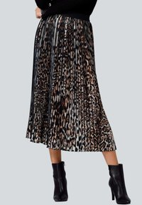 Alba Moda - A-line skirt - braun schwarz - 0