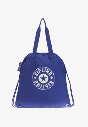 GO YOUR OWN WAY - Drawstring sports bag - laserblue light