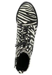 Tizian - BOSTON - Lace-up ankle boots - zebra - 1