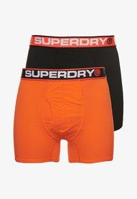 Superdry - 2 PACK - Pants - orange - 2