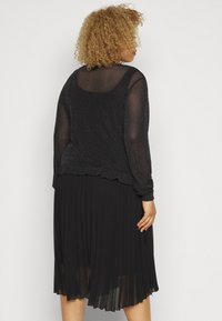 Pieces Curve - PCZUA  TOP CURVE - Long sleeved top - black - 2